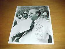 Massachusetts Congressman Gerry Studds Autographed Signed Photo