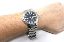 Vintage Gents Seiko Kinetic Winding Stainless Steel Wristwatch A/F #24016
