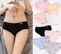 Fashion Women Ladies Girl Cotton Briefs Panties Breathable Lingerie Underwear
