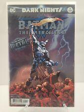 Batman: The Merciless Dark Nights Metal Tie In 1st Print Foil Stamped