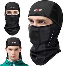 Kingbike Balaclava Ski Mask Motorcycle Running Full Face Cover Neoprene Masks Bl