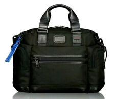 New $345 Tumi Alpha Bravo Brooks Black Ballistic Nylon Men's Slim Briefcase