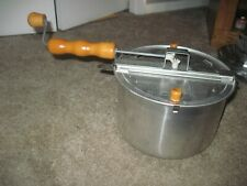 The Genuine Whirley Pop Popcorn Popper Kettle Very Good Condition