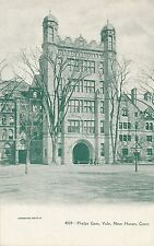 NEW HAVEN CT – Yale University Phelps Gate – udb (pre 1908)