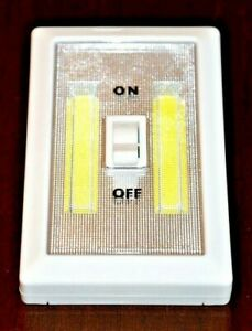 CatalinaStamps: SUPER BRIGHT SWITCH 2-PACK, LED Light Switch, New Item Lot #L