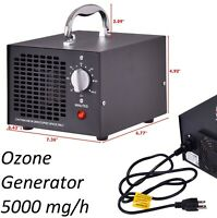 Air Purifier Ozone Generator Home Industrial Smoke Remover Air Sterilizer 5000mg