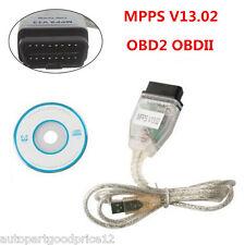 SMPS MPPS V13 EDC16 Boît Métal COM SMPS OBD2 OBD pour Renault Peugeot Citrôen