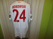 FC Bayern München Adidas CL. Matchworn Trikot 2008/09 + Nr.24 Borowski Gr.XL
