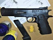 Pistolet à bille qualité Élite 26cm Solide Puissant 0,5 joule & 30 billes +18ans
