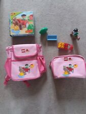 LEGO DUPLO RARE HORSE SET 4683 & RUCKSACK AND PENCIL CASE