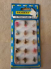 Vintage Seaway15-Trout Flies F67/72 Factory Sealed Package