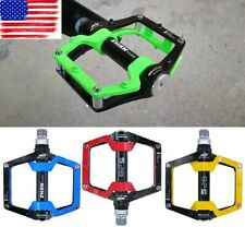 Flat Pedal Magnesium alloy Cycling Road Mountain Bike XC Bicycle Pedal 410g