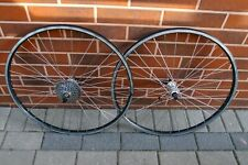 MTB bike wheels 26'' Wolber AT20 Shimano Deore XT HB-M737 Exage FH-HG62 7 sp