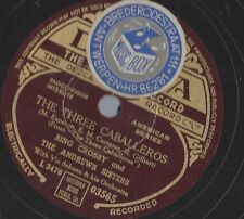 Andrew Sisters + Bing Crosby : Don`t fence me in + The three Caballeros