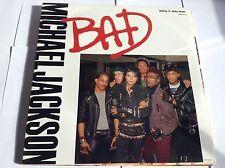 Michael Jackson-Bad 12 in (environ 30.48 cm) spéciales presque comme neuf/EX +++