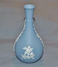 Vase Keulenvase Wedgwood, Putti, Jasper Product, Blue, 5 3/16in