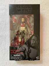 "Star Wars Black Series 6"" Baze Malbus Rogue One #37 - MISB"