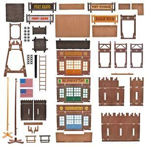Playmobil® Western Fort ACW Cowboy Erweiterung Ersatzteile 3419 3420 3773 3806