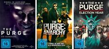 3 DVDs * THE PURGE 1 - 3  (SÄUBERUNG  ANARCHY ELECTION YEAR ) IM SET # NEU OVP +
