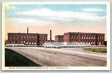 Naval Training Station Barracks Number 1 & 2 in Newport, Rhode Island Postcard