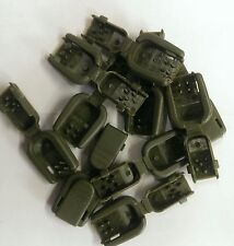 10 Olive Drab Plastic Zipper Pull Cord Lock Ends Paracord Military Army Green #8