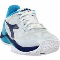 Diadora Speed Blushield 2 Ag Mens Tennis Sneakers Shoes Casual   - White - Size