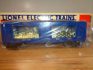 LIONEL O GAUGE # 6-19406 WEST POINT MINT CAR WITH SPRUNG TRUCKS AND BOX
