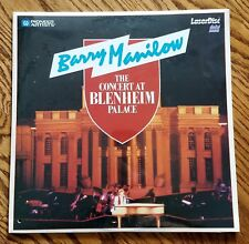 Ld Laserdisc Barry Manilow The Concert at Blenheim Palace Excellent Condition
