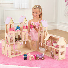 Princess Castle Kids Dolls House Doll House Wooden Dolls House Wooden Castle