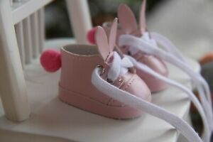 """BUNNY SHOES for Paola Reina dolls~Corolle~Jolina ~13.5"""" 34сm~ by iCukla~5cm~#105"""