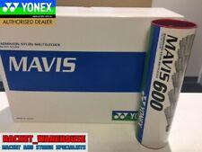 1 X TUBE YONEX MAVIS 600 BADMINTON SHUTTLES SHUTTLECOCKS RED/FAST MADE IN JAPAN