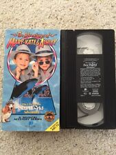 *~Adventures Of Mary-Kate &Ashley*~The Case Of The Sea World Adventure*~VHS*~
