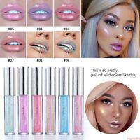 HANDAIYAN Waterproof Lipsticks Long Lasting Glitter Shimmer Lip Gloss Liquid