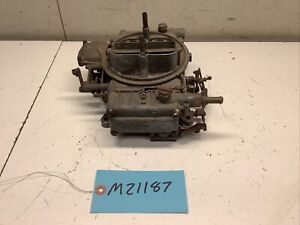 1958 FORD THUNDERBIRD 430 TYPE 4160 HOLLEY 600CFM 4 BBL CARB LIST 1850