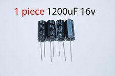1x Capacitor Rubycon 1200uF 16v 105C 10x23mm. Radial. US Seller