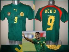 Cameroon ETO'O Adult Medium Puma 2006 Shirt Jersey Football Soccer Rare Africa