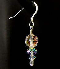Graduated Crystal AB Earrings Fashion Dangle created with Swarovski Crystals iDu