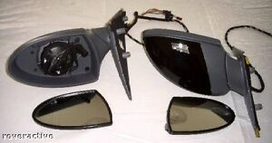 BMW E63 E64 6 Series M6 Genuine Side Mirrors Painted With Non Auto-Dimming Glass
