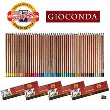 KOH-I-NOOR Gioconda 48 Soft Pastellstifte Pastell Kreide Set + Anspitzer