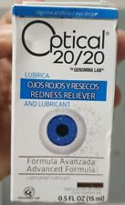 New listing 1) OPTICAL 20/20 Advanced Formula Eye Drops Redness Dryness Exp 1/19 Collectable