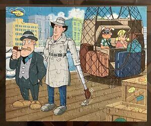 Vintage Inspector Gadget 100 Piece Jigsaw Puzzle Milton Bradley 3413-03 COMPLETE