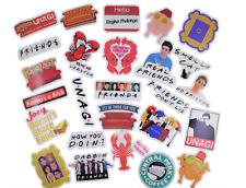 100 pcs Friends Tv Show Sticker Pack Waterproof Vinyl stickers, Free USA Ship!