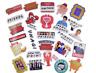 100 pcs Friends Tv Show Sticker Pack Waterproof Vinyl stickers, Free USA Ship!