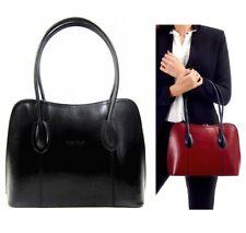 Neues AngebotHandtasche Damen schwarz Damen Schultertasche italienische Leder Beuteltasche Vera Pelle