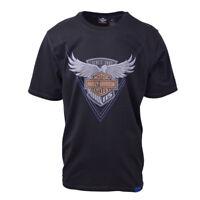 Harley-Davidson Men's Black Anniversary Classic S/S Tee (Retail $50) S02