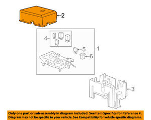 GM OEM Fuse Relay Box-Upper Cover 25941374