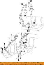 1997-1999 CAMARO FIREBIRD GRAY PASSENGER SEAT BELT SHOULDER GUIDE NEW  16799272