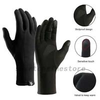 Winter Warm Windproof Waterproof Anti Slip Thermal Touch-Screen Bike Ski Gloves