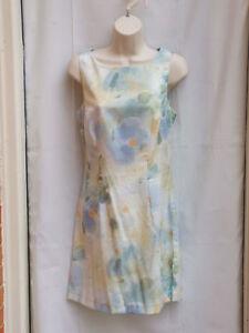 Nwt $69 muted watercolor print sleeveless sheath size 9