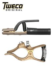 Combo - Genuine Tweco GC-200 Ground Clamp & A-532 Electrode Holder